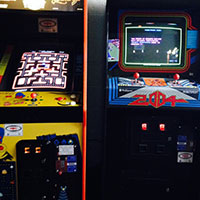 Classic Pacman and Robotron